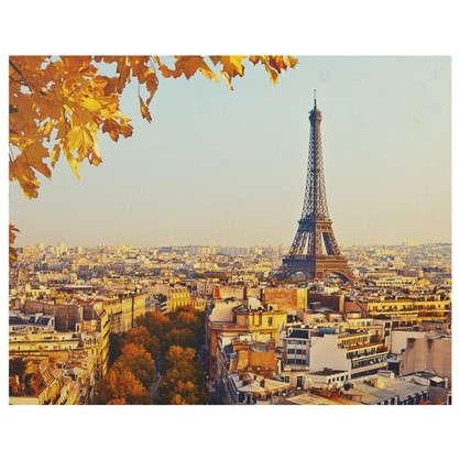 Картина на холсте 40х50 см Осень в Париже цена
