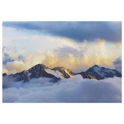Картина на холсте 50х70 см Вершины гор