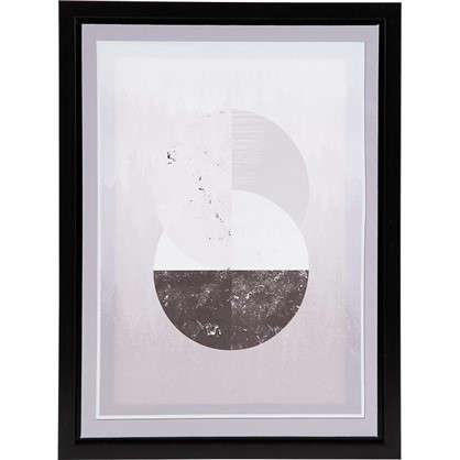 Картина на холсте в раме Круги 30х40 см цена
