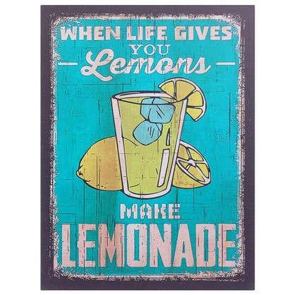 Картина на МДФ Лимонад 30х40 см цена