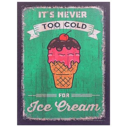 Картина на МДФ Мороженое 30х40 см цена