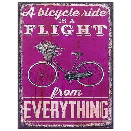 Картина на МДФ Велосипед 30х40 см цена