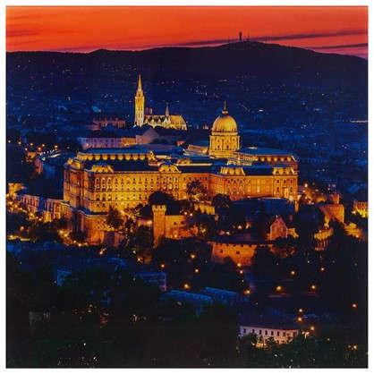 Картина на стекле 30х30 см Будапешт Венгрия цена