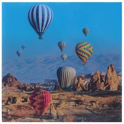 Картина на стекле 30х30 см Воздушные шары-1 цена