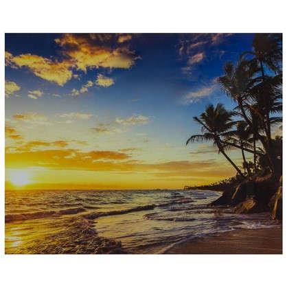 Картина на стекле 40х50 см Райский остров цена