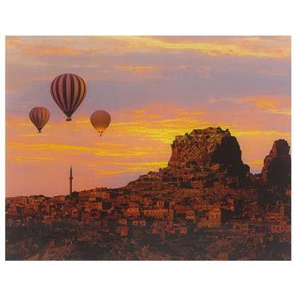 Картина на стекле 40х50 см Воздушные шары цена