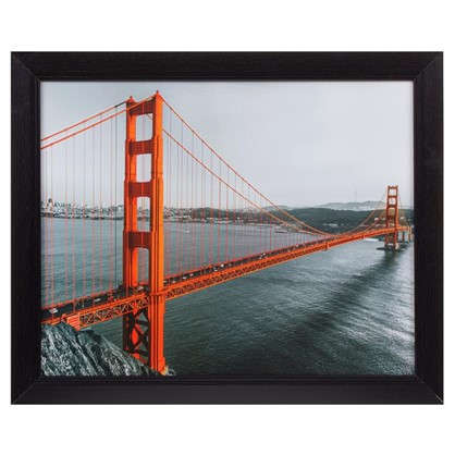 Картина в раме 40х50 см Golden Gate цена