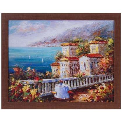 Картина в раме 40x50 см Побережье цена