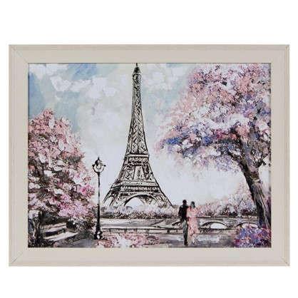 Картина в раме 40x50 см Весна в Париже цена