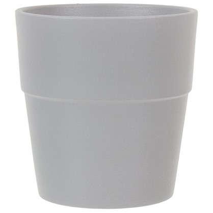 Кашпо Аллой конус 10 л 26 см цвет серый