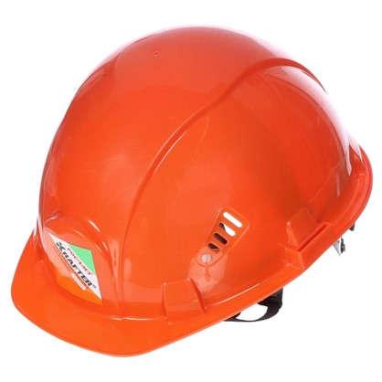 Каска защитная Krafter оранжевая цена