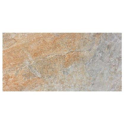 Керамогранит Бергамо 30х60 см 1.62 м2 цвет серо-бежевый цена