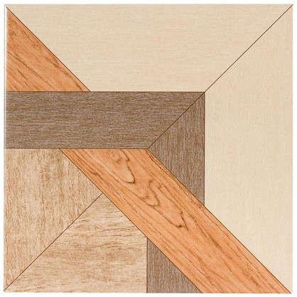 Керамогранит Рома 33х33 см 1.307 м2 цвет коричневый цена