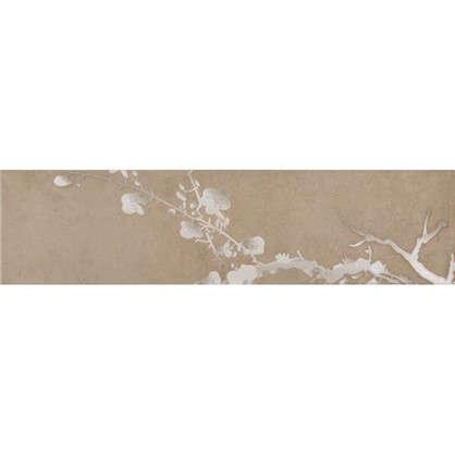 Керамогранит Sakura Какао 60x15 см 4 шт.