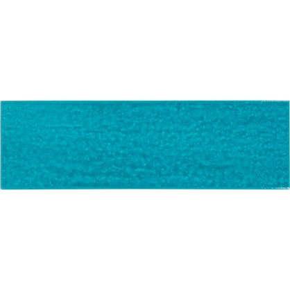 Керамогранит Teo 25x7.5 см 0.79 м2 цвет бирюзовый глянцевый цена