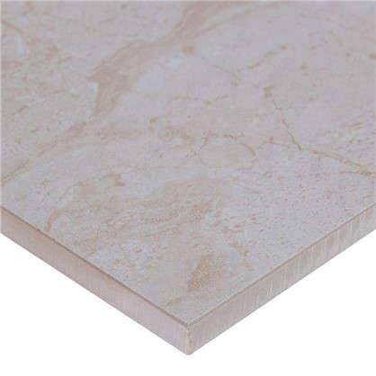 Керамогранит Венеция 45х45 см 1.215 м2 цвет белый