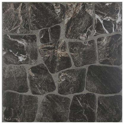 Керамогранит Vilio Graphite 32.6х32.6 см 1.17 м2 цвет чёрный цена