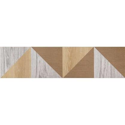 Керамогранит Wood Гео 60x15 см 4 шт. цена