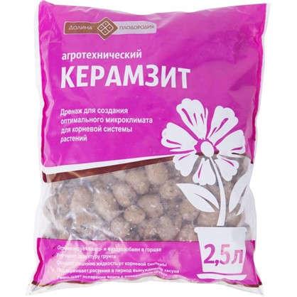 Керамзит  2.5 л цена
