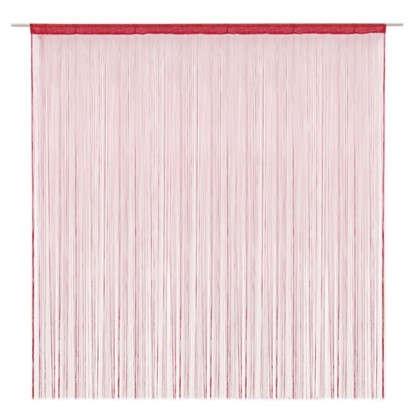 Кисея 150х280 см однотон цвет красный цена