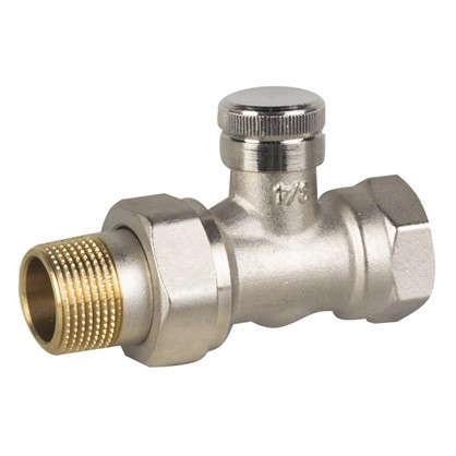 Клапан для радиатора прямой RLV-20 никель