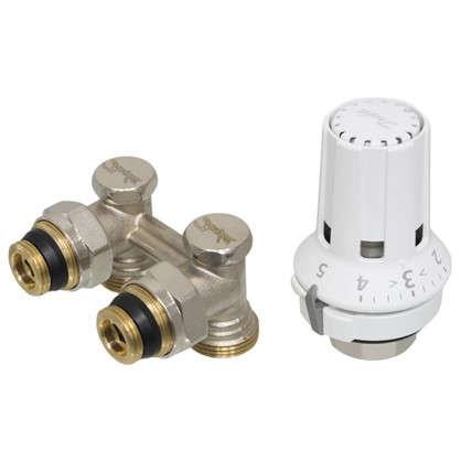 Клапан для радиатора запорный угловой М 30x16 цена