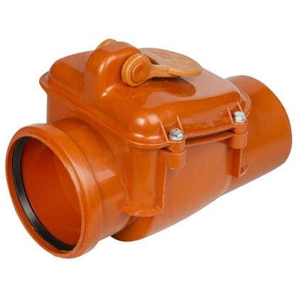 Клапан обратный наружный 110 мм цена