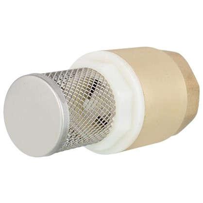 Клапан с фильтром цельный 1 дюйм цена