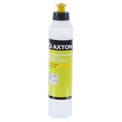 Клей Axton для потолочных изделий полимерный 0.25 л цена