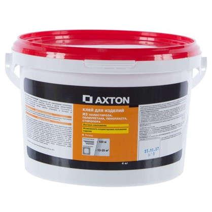 Клей Axton для потолочных изделий стиропоровый 4 кг цена