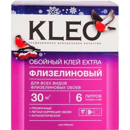 Клей для флизелиновых обоев Kleo Extra 30 м2 240 г цена