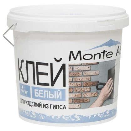 Клей для изделий из гипса Monte Alba 4 кг цена