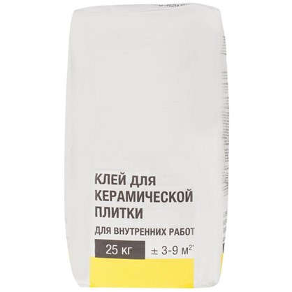 Клей для плитки 25 кг цена