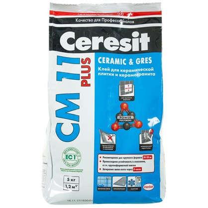 Клей для плитки Сeresit СМ 11 5 кг цена