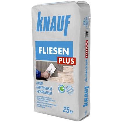 Клей для плитки усиленный Knauf Флизен Плюс 25 кг
