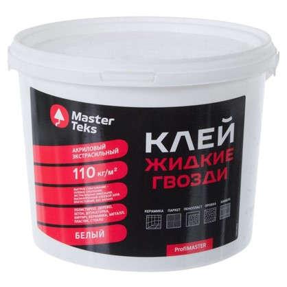 Клей экстрасильный Masterteks 4.5 кг цвет белый