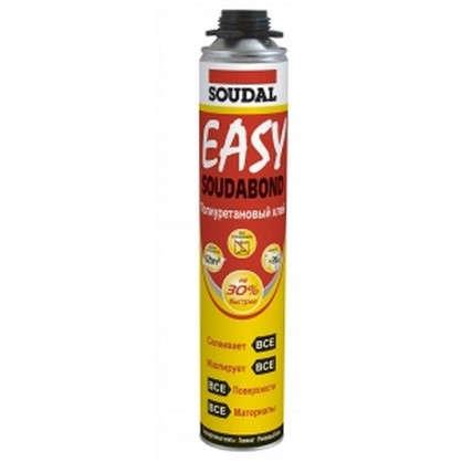 Клей полиуретановый Soudal Soudabond Easy Gun цена