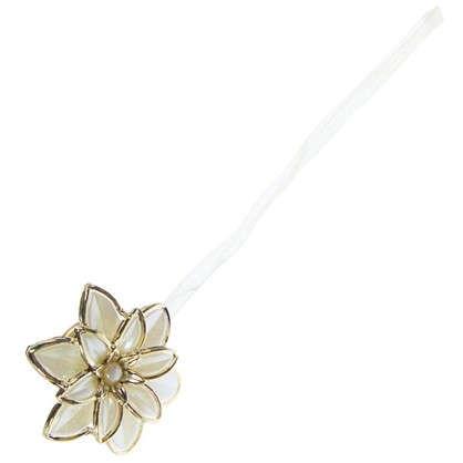 Клипса Нарцисс 60 мм цвет белый