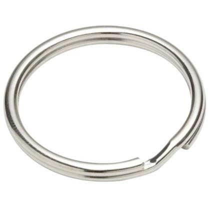 Кольцо для ключей Standers 26 мм никель 3 шт. цена