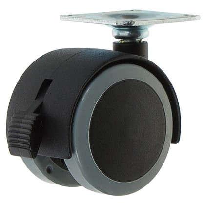 Колесо Alex1-0643 50 мм поворотное с тормозом цена