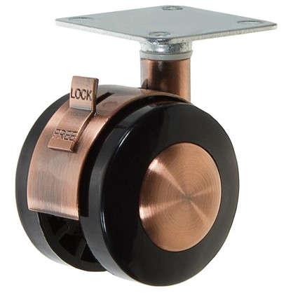 Колесо LZPB(AB)50 50 мм поворотное с тормозом цена