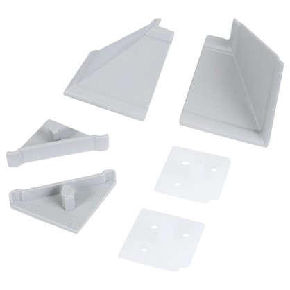 Комплект для установки плинтуса цвет серый цена
