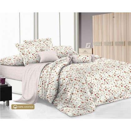 Комплект постельного белья сатин 15сп CHIARO цена