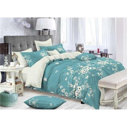 Комплект постельного белья Свежесть 2-спальный сатин цена