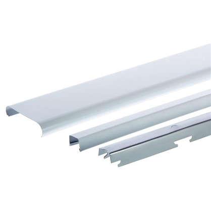 Комплект потолка для туалета 1.35х0.9 м цвет белый глянцевый цена
