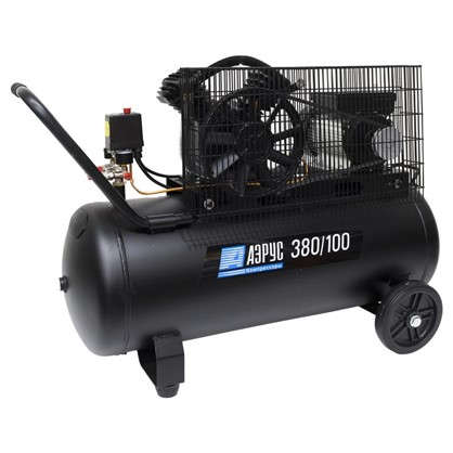 Компрессор масляный Аэрус 100 л 380 л/мин. 2.2 кВт цена