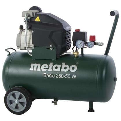 Компрессор масляный Metabo 50 л 200 л/мин. 1.5 кВт цена