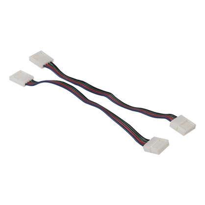 Коннектор светодиодной ленты 10 мм IP23 RGB5050 цена