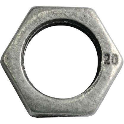Контргайка оцинкованная 3/4 мм чугун цена