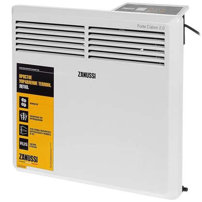 Конвектор электрический Zanussi ZCH/S-1000 ER 500 и 1000 Вт площадь обслуживания 15 м2